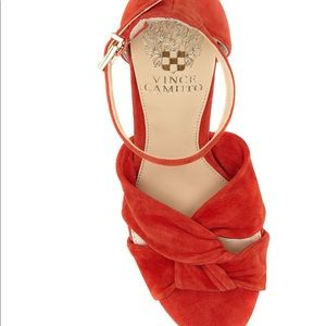 6a4f22be5878 Vince Camuto Shoes - Vince Camuto Corlesta Red Hot Rio Size 8.5